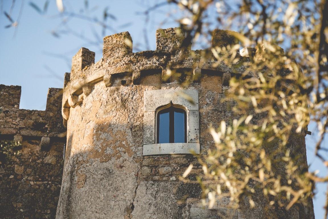 Fachada castillo Arguijuelas de Arriba