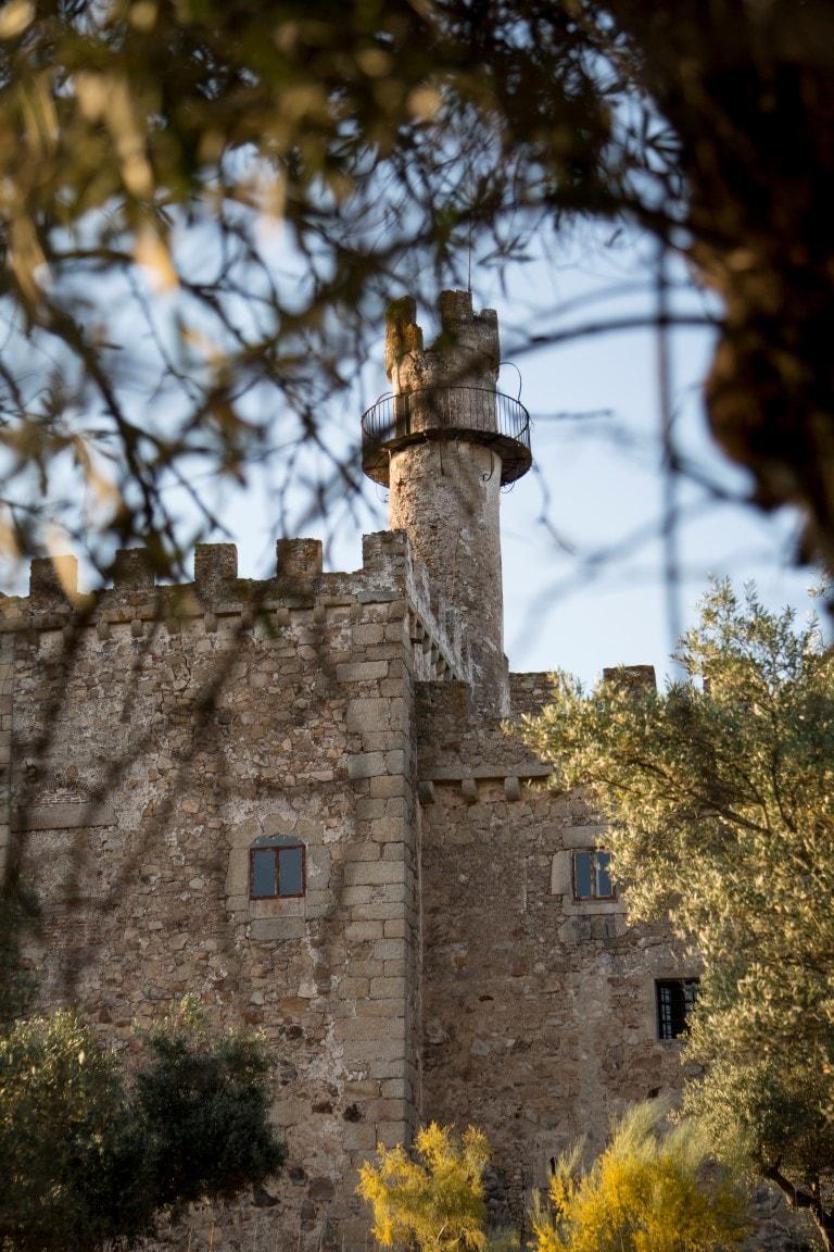 Fachada Castillo de Cáceres