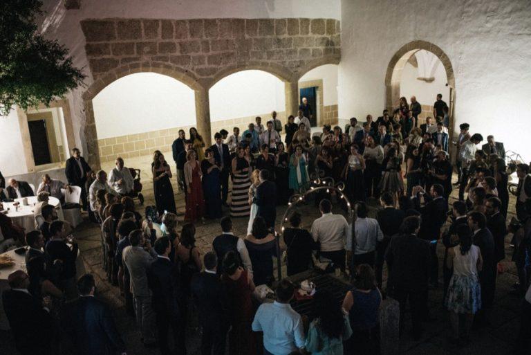 barra libre castillo de Cáceres