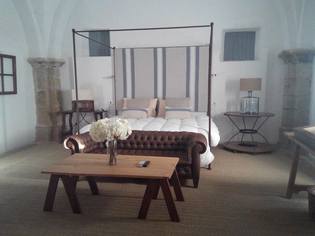 Habitación Junior Suite Mazmorra Castillo de Cáceres