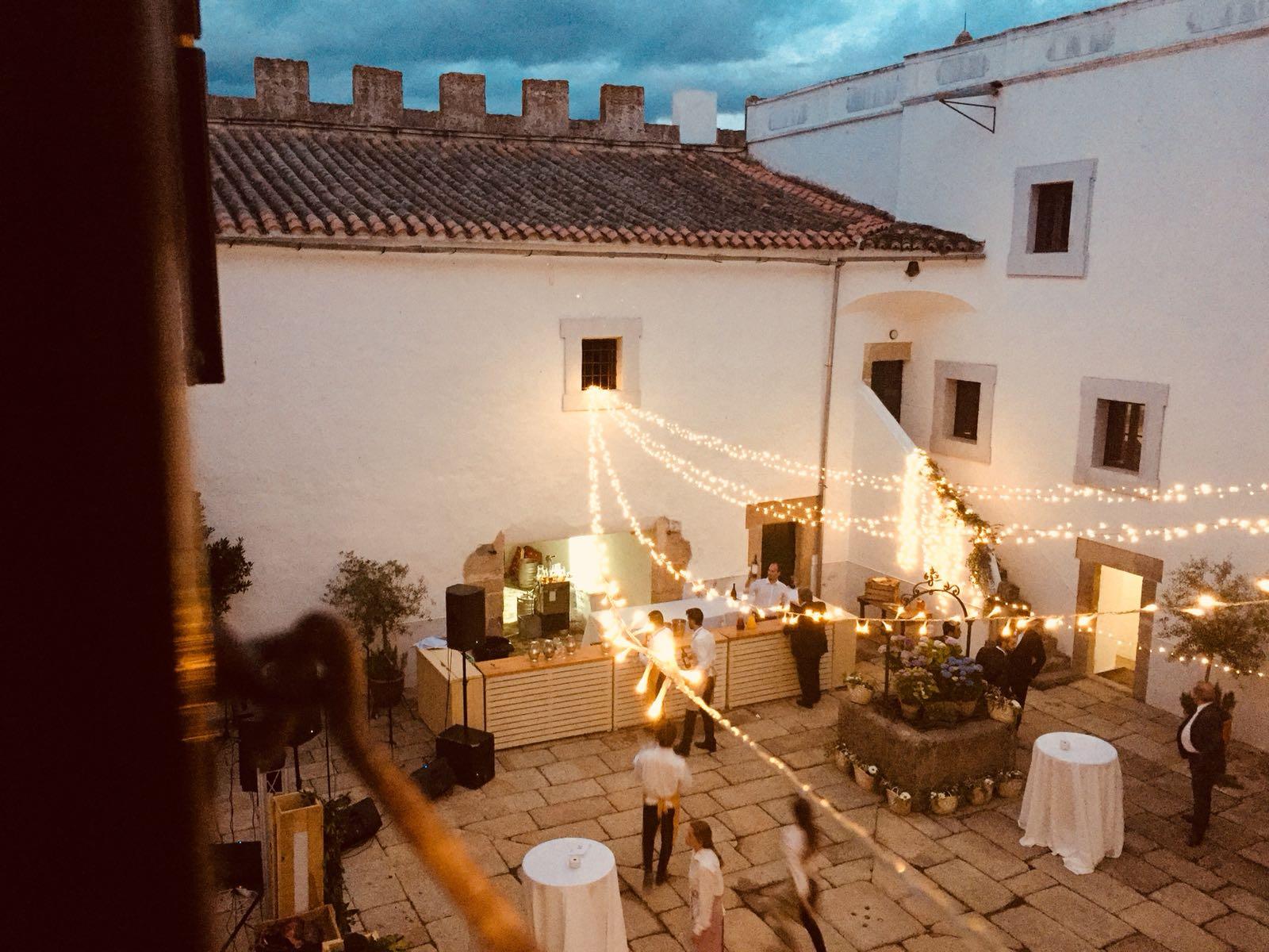 Barra libre en el Castillo de Cáceres