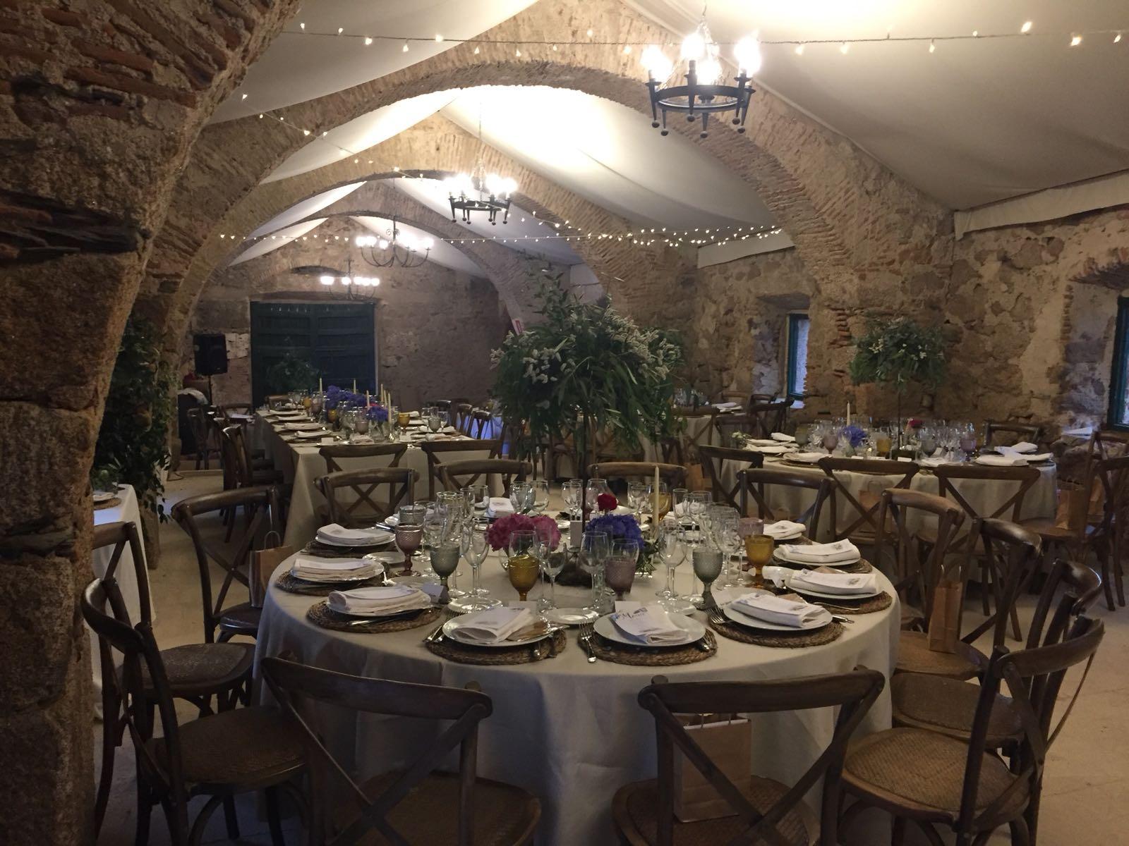 Boda interior castillo de Cáceres